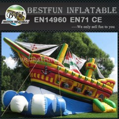 Fantastic pirate inflatable slide
