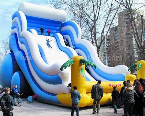 Inflatable slides for kids and adults