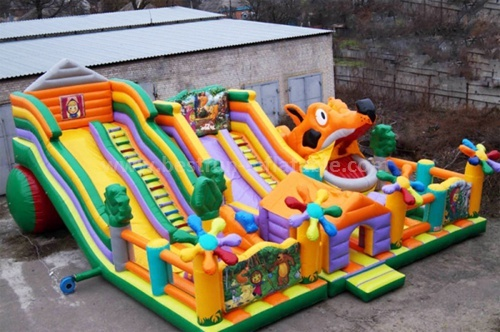 Inflatable slides for toddler