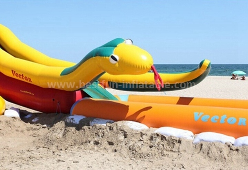 Inflatable sports climbing slide