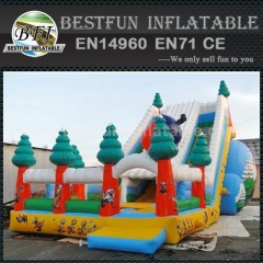 Kids huge inflatable slide