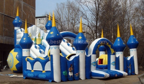 Kids inflatable commercial slide