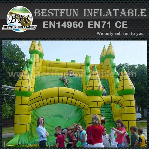 Kids pvc inflatable slide