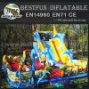 Multi slides inflatable playground