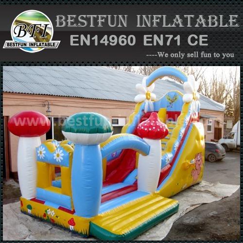 Indoor kids inflatable slide