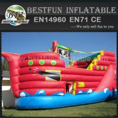 Outdoor inflatable super slide