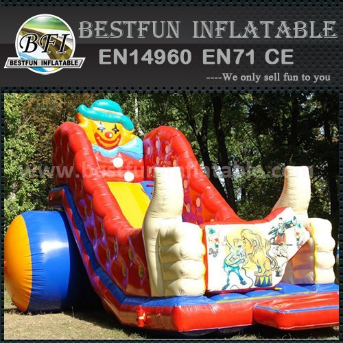 Big inflatable clown slide for sale