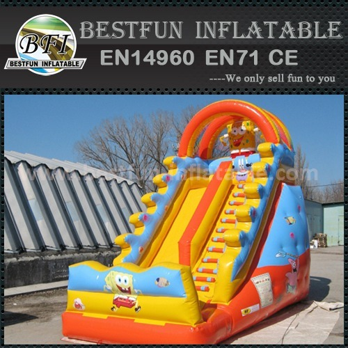 Sea world inflatable slides