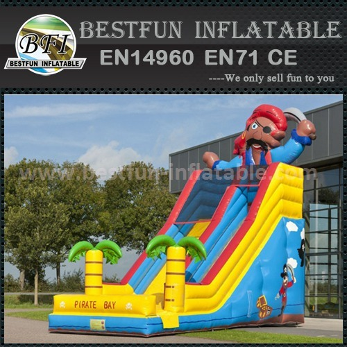 Inflatable obstacle climb and slide