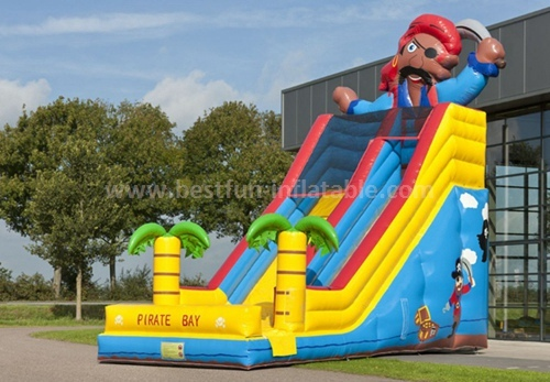 Small inflatable slides for sale