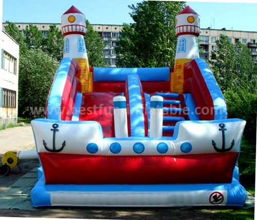 Titanic inflatable adult slide