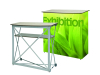 High quality pop up table display