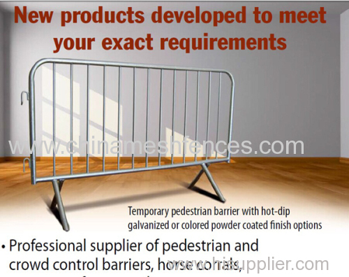 Cost Effective Portable Crowd Control Barricade