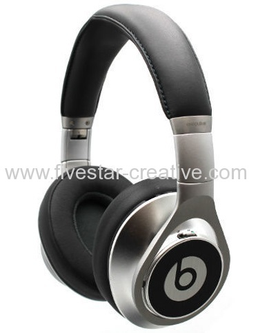 Beats by Dr.Dre Beats Executive Noise Cancelling Superior Over-the-Ear Silver Headphones