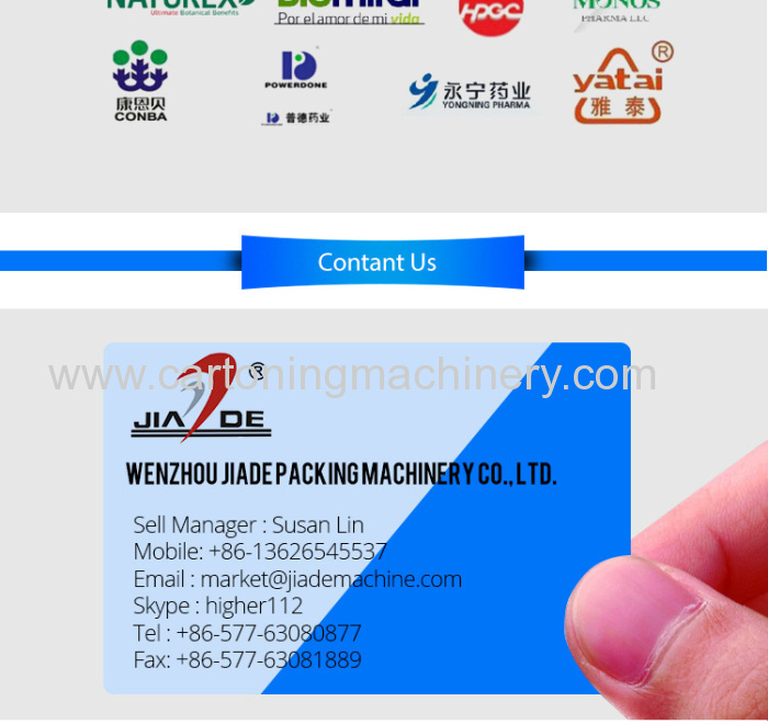 Automaticcartoning machine and cellophane wrapping machine