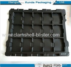 Plastic antistatic or conductive ESD tray