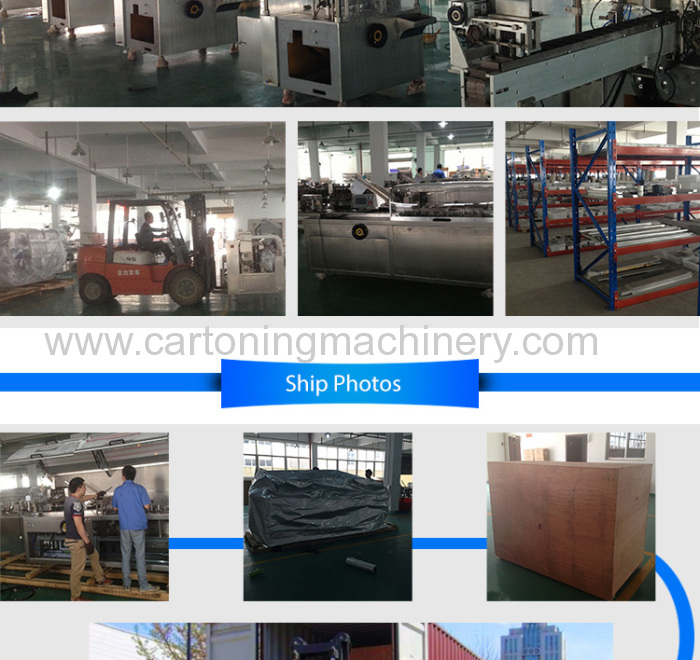 Automatic Box Cartoning Machine china supplier