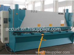 10mm Thickness 4000mm NC Hydaulic Cutting Machine
