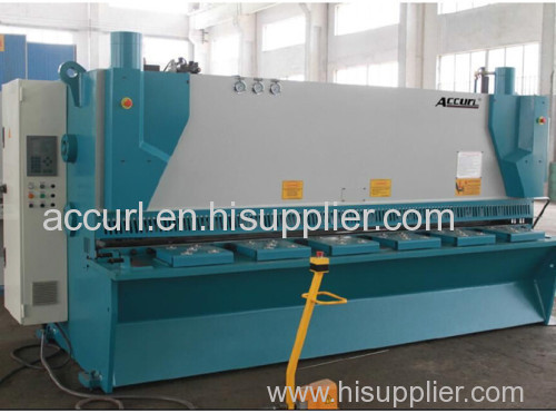 16mm Thickness 6000mm NC Hydaulic Cutting Machine