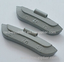 clip wheel weight adhesive wheel balance weight zinc balance weight