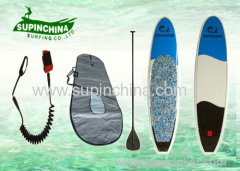 durable water ski EPS Stand up paddle boards with Leash Carbon Paddle