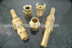 Single Lock Brass Coupling