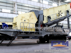 Tracked Cone Crusher Machine