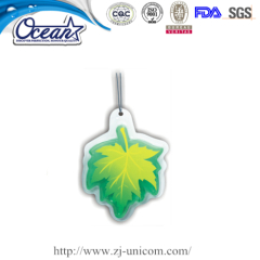 7g Leaf shape Hanging Gel Air Freshener personalized promotional products