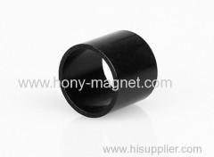 Big ring bonded cylinder neodymium magnet