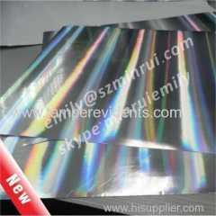 A4 hologram Fragile brittle label papers