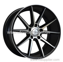Thin spokes alloy wheel