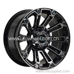 Alloy wheels for SUV car with big center cap