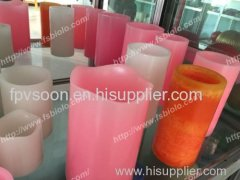 Paraffin led wax candle