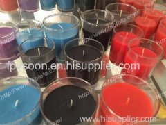 scented soy wax candle