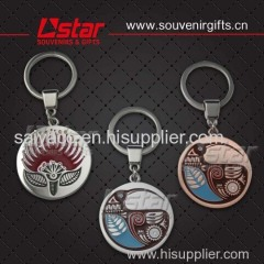 Custom design and promote souvenirs keychain