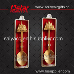High quality souvenirs spoon with low price