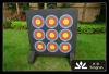 Mundane competition shooting target, foam material target
