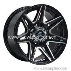 Heavy SUV wheel with big cap