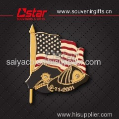 China supplier custom design souvenirs badge metal pin