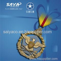 zhongshan saiya high quality souvenirs metal medal