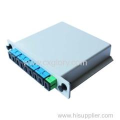Fiber Optic Plug Type FTTH PLC Splitter
