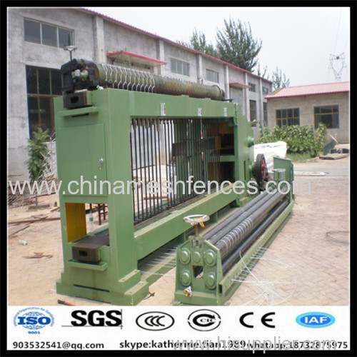 PLC frequency control gabion making machine