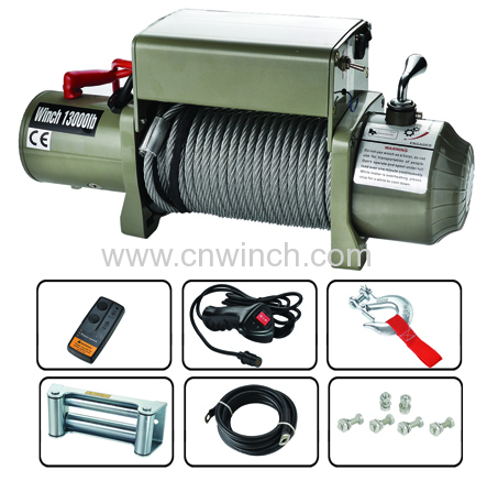 13000lb Electric Winch with remote