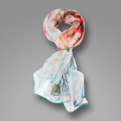 Customized Digital Printed Silk Scarf