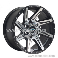 Chrome rivets SUV alloy wheel