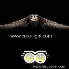 Owl Eye Design! 20W 2* CREE XM-L U2 LED High Power Bicycle Light POPPAS-YZL801