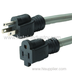 3-pin American Type Extension cord