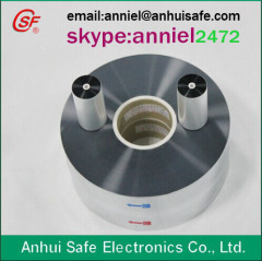 metallized polypropylene film for capacitor use