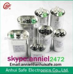 air conditioner capacitor aluminium case round shape CBB65 capacitor 10uf 20uf 30uf 40uf 50uf 60uf 70uf 80uf 90uf 100uf