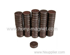 Bonded ferrite magnetic motor parts